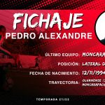 Pedro Alexandre, el joven portugués se une a la plantilla de Ceballos
